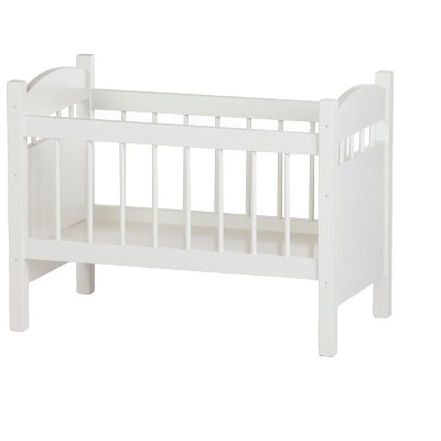 Remley Katie's Collection Kids Wooden Doll Crib Playset - Ships Assembled - Ships Assembled
