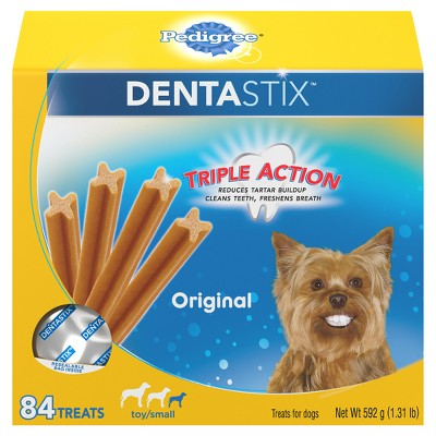 Pedigree Dentastix Original Toy/Small Treats for Dogs Value Pack - 84ct