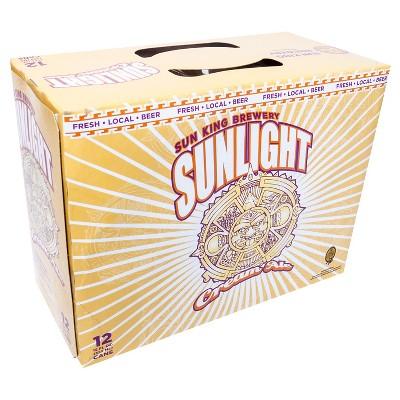 Sun King Sunlight Cream Ale Beer - 12pk/12 fl oz Cans