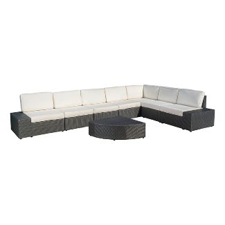 Admirable Better Homes And Gardens Baytown 5 Piece Woven Sectional Uwap Interior Chair Design Uwaporg