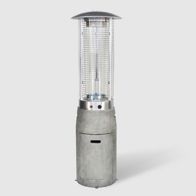 Argent Cement Outdoor Patio Induction Heater - Gray - Bond