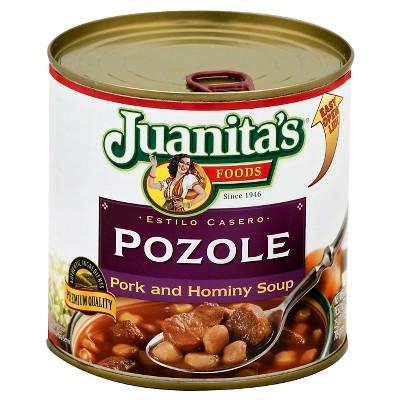 Juanita's Pozole Pork and Hominy Soup 29oz