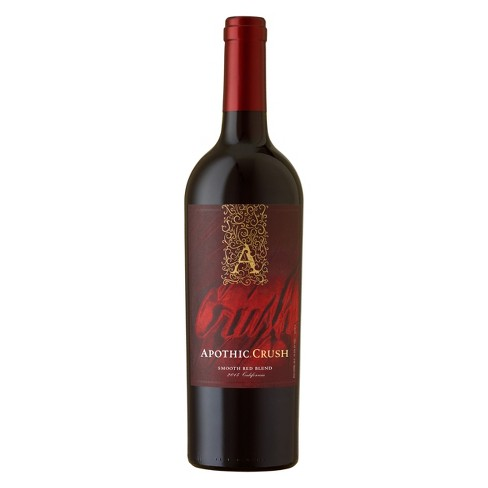 Apothic Crush Smooth Red Blend - 750ml Bottle - image 1 of 3