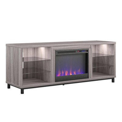 """Yorkshire Fireplace TV Stand For TVs Up To 70"""" Wide - Room & Joy"""