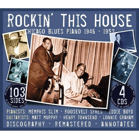 Memphis Slim - Rockin' This House-Chicago Blues Piano 1946-1953 (CD) - image 1 of 1