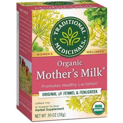 Traditional Medicinals Organic Mother's Milk Herbal Tea - 16ct