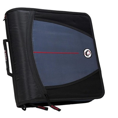 Case It Case-it Mighty Zip Tab 3  3-Ring Zipper Binder 169801
