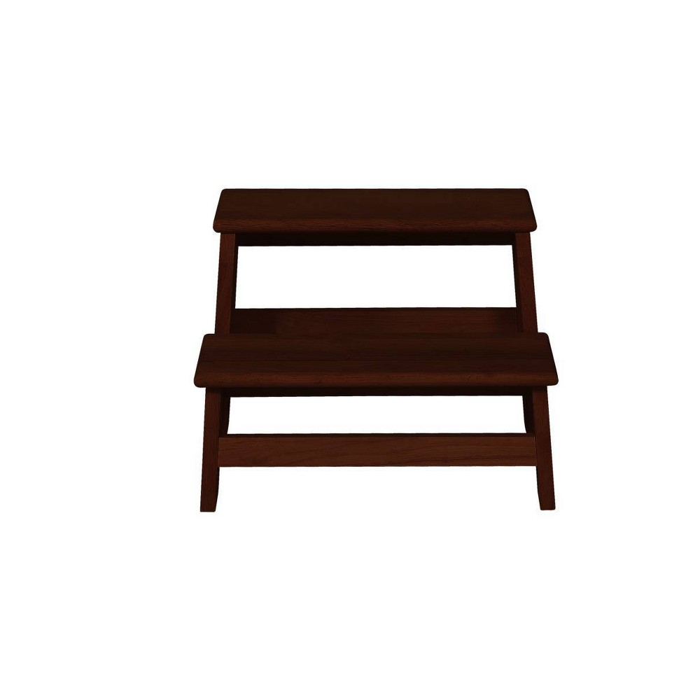Image of Tyler Bed Step Espresso/Oak - Powell Company