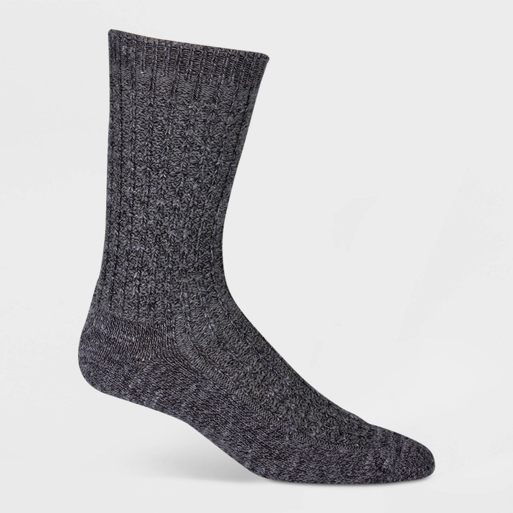 Image of Wigwam Women's Emory Lightweight Crew Boot Socks - Charcoal, Women's, Size: Small, Grey