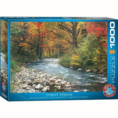 Eurographics Inc. Forest Stream 1000 Piece Jigsaw Puzzle - image 1 of 4