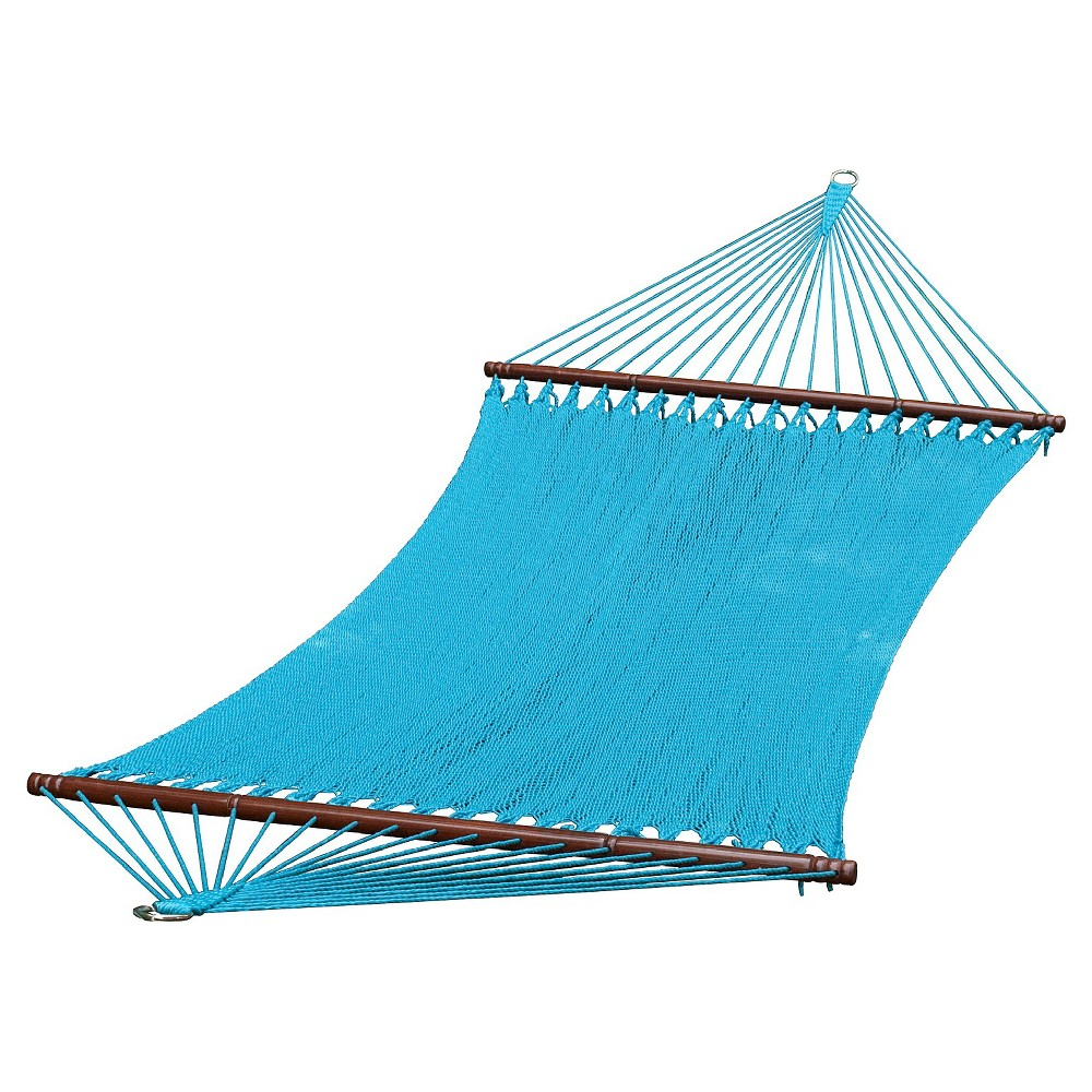 Image of 13 Foot Caribbean Hammock - Blue, Lite Blue