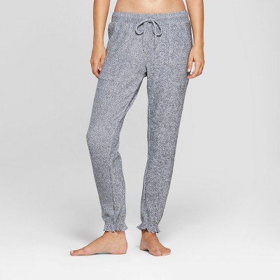 Women's Cozy Jogger Pajama Pants - Gilligan & O'Malley™ Light Gray XS