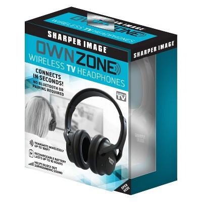 As Seen on TV Own Zone Headphones Black