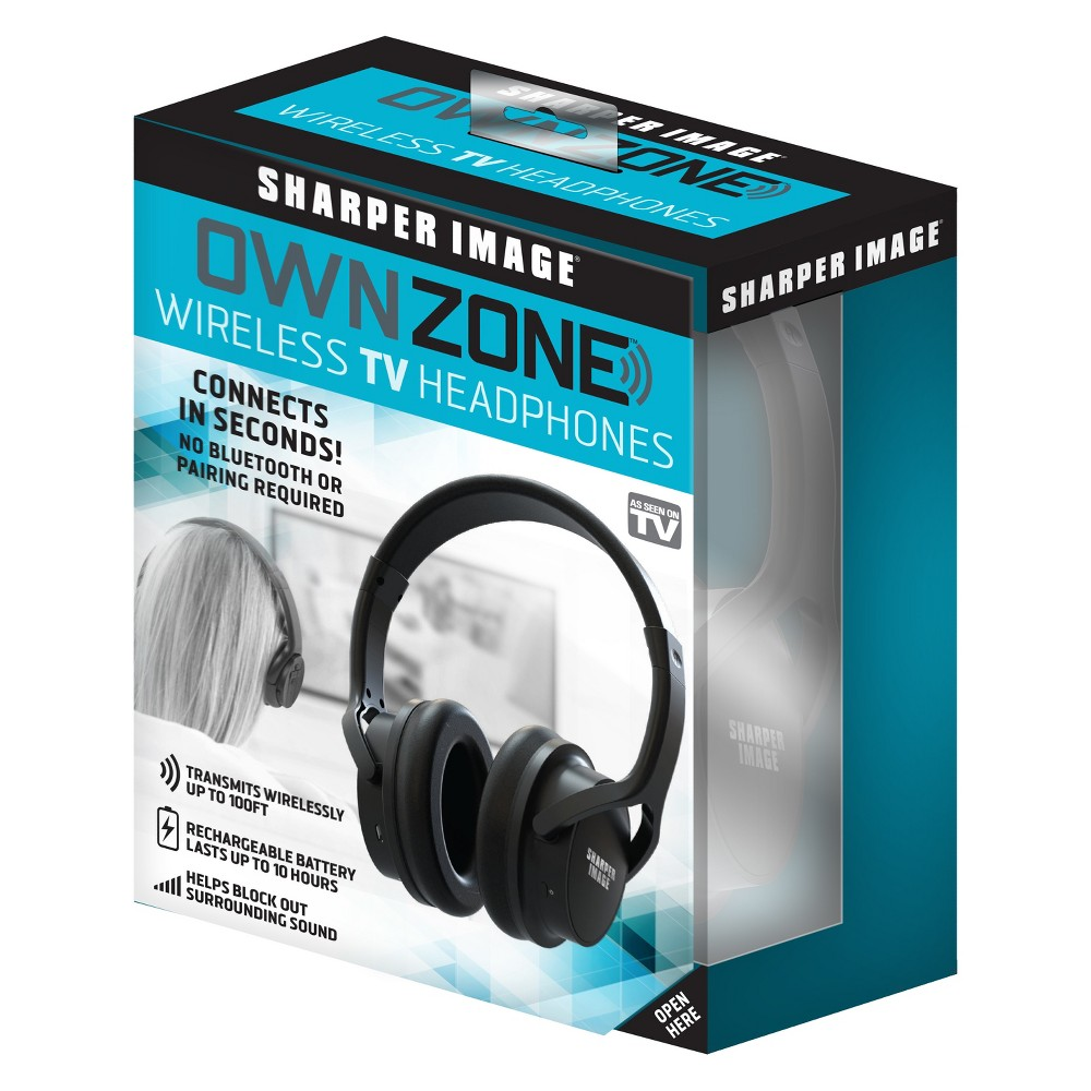Image of As Seen on TV Own Zone Headphones Black