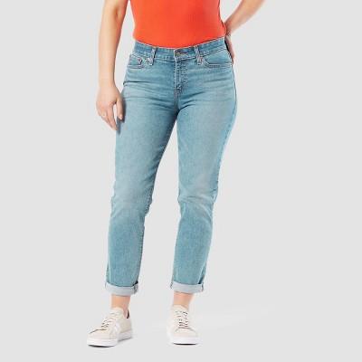 DENIZEN® from Levi's® Women's Mid-Rise Slim Cropped Boyfriend Jeans