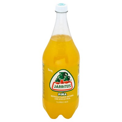 Jarritos Pineapple Soda - 1.5 L Bottle