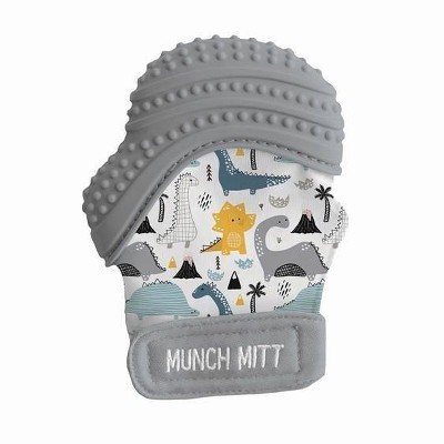 Munch Mitt Malarkey Kids' Teether with Travel Bag - Dino