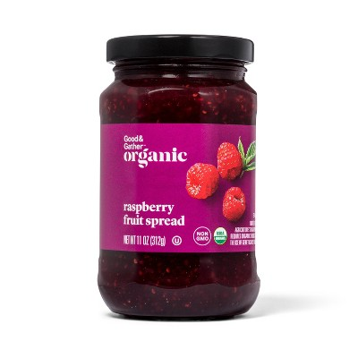 Organic Raspberry Fruit Spread - 11oz - Good & Gather™
