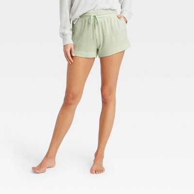 Women's Striped Perfectly Cozy Lounge Shorts - Stars Above™