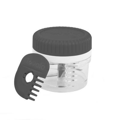 Tovolo Twist and Chop Mini Mincer Charcoal