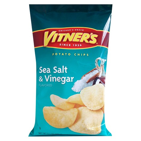 Vitner's Sea Salt & Vinegar Flavored Potato Chips - 8.5oz - image 1 of 1