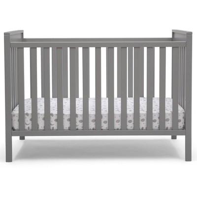 Delta Children Mercer 6-in-1 Convertible Crib - Gray