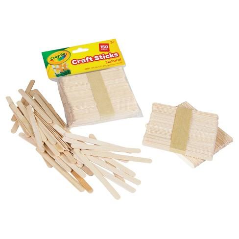 crayola craft sticks 150ct natural target