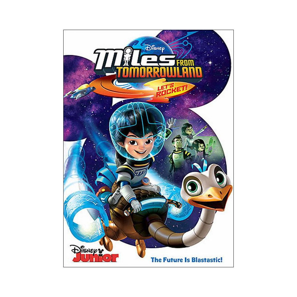 Miles From Tomorrowland: Let's Rocket! (English) (dvd_video)