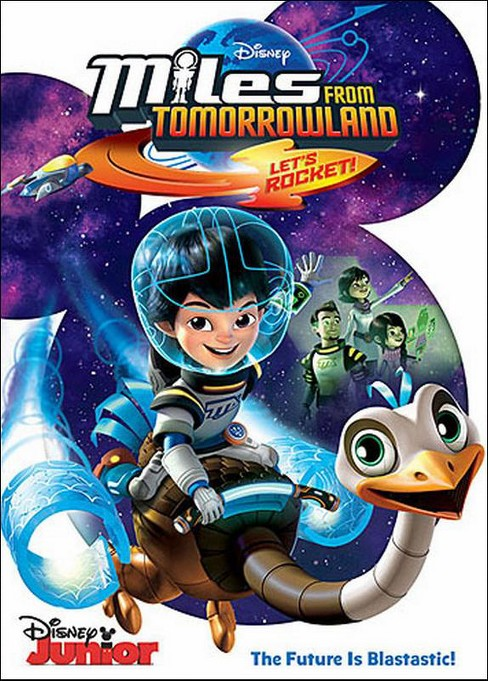 Miles From Tomorrowland: Let's Rocket! (English) (dvd_video) - image 1 of 1