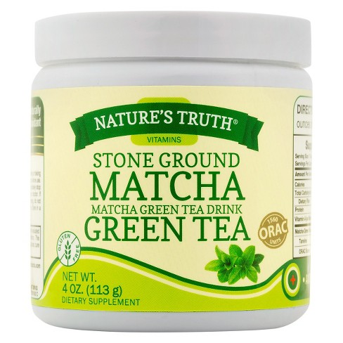 Nature's Truth Stone Ground Matcha Green Tea - 4oz - image 1 of 2