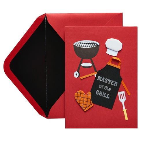 Papyrus Master of the Grill Father's Day Card with Foil - image 1 of 1