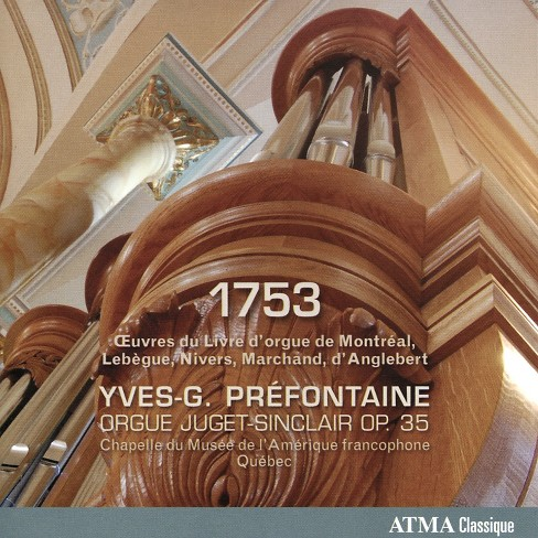 Yves-g. prefontaine - 1753 (CD) - image 1 of 1