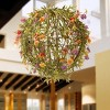 """12"""" Garden Accents Artificial Flower Ball - National Tree Company - image 2 of 4"""