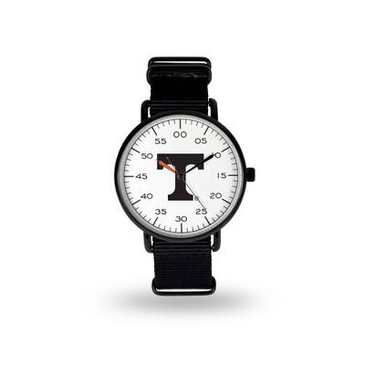 NCAA Tennessee Volunteers Men's Analog Watch - Black