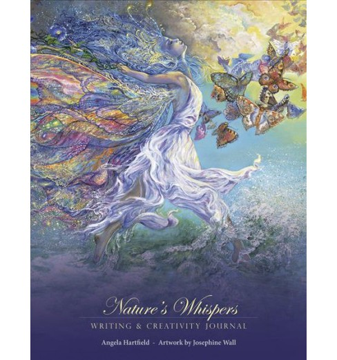 Nature's Whispers Writing & Creativity Journal (Paperback) (Angela Hartfield) - image 1 of 1