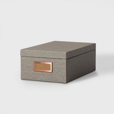 Storage Box Medium - Gray Marble - Hearth & Hand™ with Magnolia