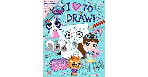 I Love to Draw! (Paperback) (Megan Bell) - image 1 of 1