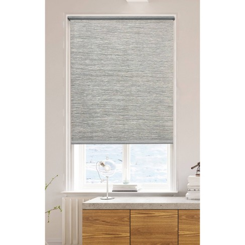 "54""x72"" Light Filtering Natural Roller Shade Taupe - Lumi - image 1 of 3"
