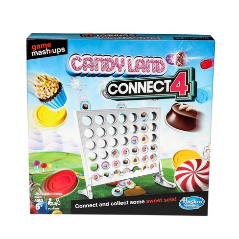 Game Mashups Candy Land Connect 4 Game - image 1 of 4