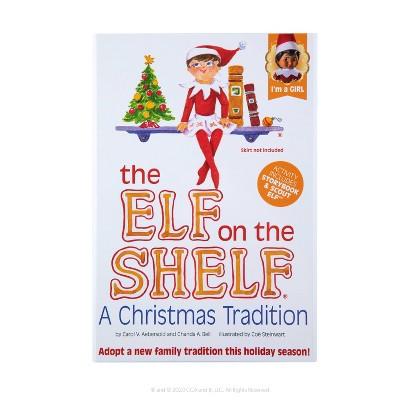 The Elf on the Shelf - Brown Eye Girl Elf - by Chanda Bell (Hardcover)