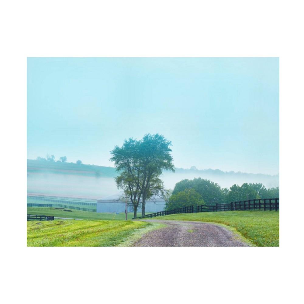 14 34 X 19 34 James Mcloughlin 39 Farmscape Photo Vii 39 Unframed Canvas Art Trademark Fine Art