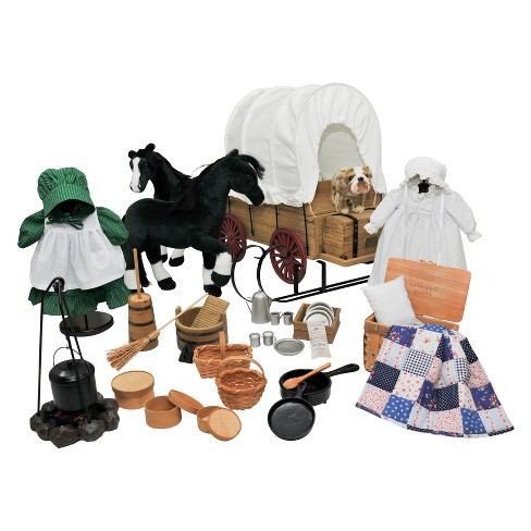 "The Queen's Treasures® 18"" Doll Little House on the Prairie American Prairie Apparel & Accessory Set - image 1 of 4"