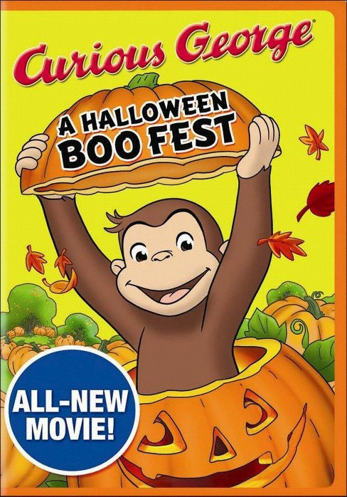 Curious George: A Halloween Boo Fest - image 1 of 1