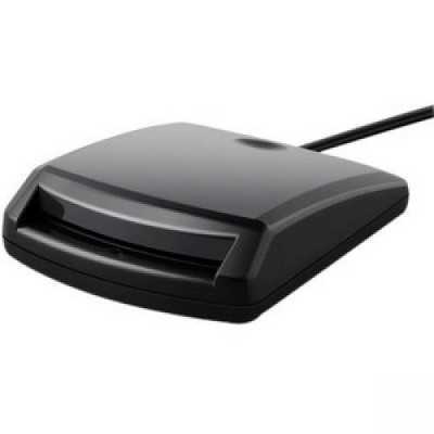 Belkin CAC Reader - Contact - CableUSB - TAA Compliant