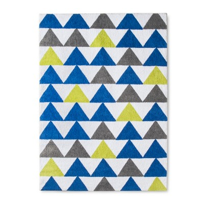 Micro Polyester Rug Triangles (4'x5'5 )- Cloud Island™ - Blue