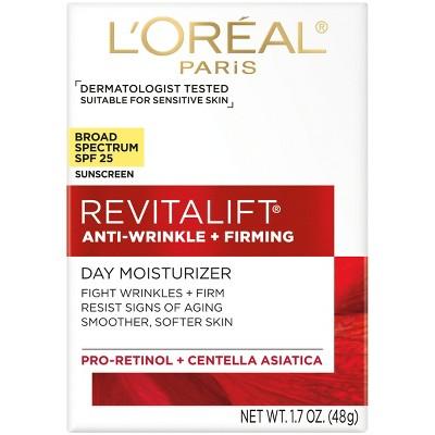 L'Oreal Paris Revitalift Anti-Wrinkle + Firming Day Cream SPF 25 - 1.7oz