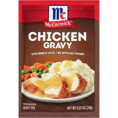 McCormick Chicken Gravy Mix .87oz