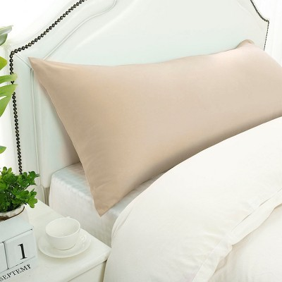 1 Pc Body 1800 Series Soft Brushed Microfiber Pillowcase Tan - PiccoCasa