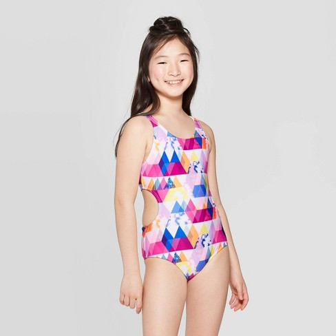 Girls' On Cloud Nine One Piece Swimsuit - art class™ - image 1 of 3