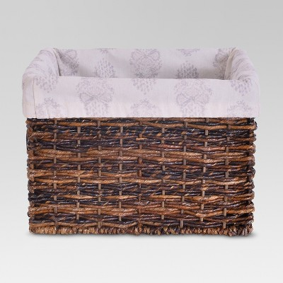 Basket Liner for Small Milk Crate - Paisley - Threshold™
